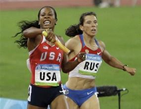 Жените на САЩ шампионки на 4 по 400 м