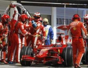 Механикът на Ферари не е с тежка травма