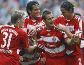 Байерн се развихри с 4 гола срещу Херта