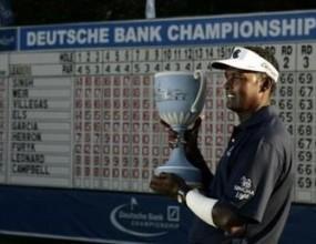 Синг спечели трофея на Deutsche Bank Championship