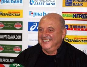 Венци Стефанов: Славия ще бъде по-силен отбор през пролетта