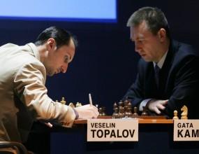 Топалов и Камски завършиха реми в първата партия