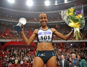 Месерет Дефар счупи световния рекорд на 5000 метра