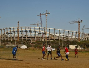 400 работници по строежите за Мондиал 2010 в ЮАР бяха уволнени