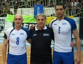 Пушката, Тасев и Стоев влязоха в историята на Иран, спечелиха бронзови медали с БЕЕМ