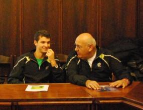 Григор Димитров се превърна в преводач