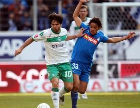 Три греди за Хофенхайм при 0:0 срещу Вердер