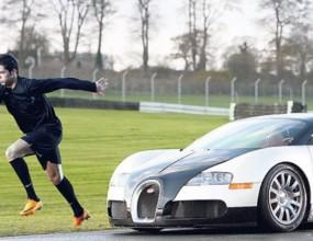 Най-бързият човек в света ще дава уроци на Роналдо