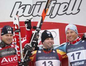 Норвежец спечели последното спускане за сезона и излезе начело за Световната купа