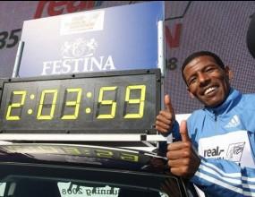 Гебреселасие по пътя към своя 27-ми световен рекорд