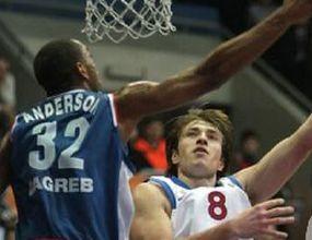 ЦСКА (Москва) с резонна победа в Загреб