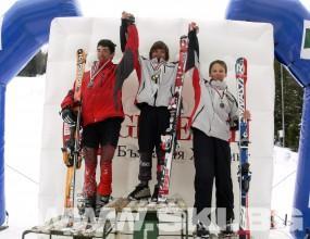 Витоша ски клуб спечели още 3 титли от Държавното по ски за деца