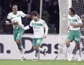 Вердер вкара само гол на Сент Етиен