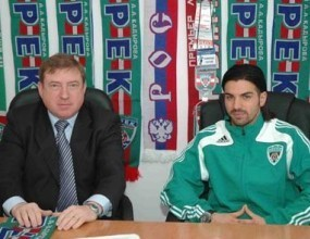 Благой Георгиев с два гола при официалното представяне на Терек