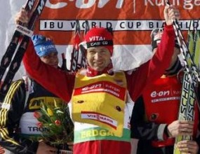 Оле Ейнар Бьорндален спечели и масовия старт на 15 километра