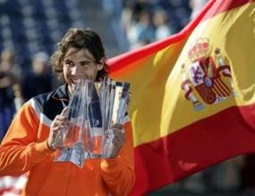 Надал бе избран за тенисист номер 1 на АТП за 2008 година