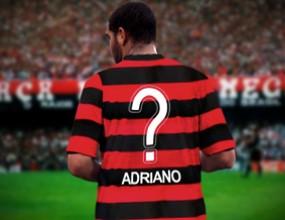Адриано подписа с Фламенго