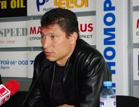 Красимир Балъков: Предстои ни много тежък мач във Варна