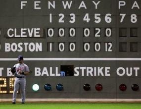 Бостън стъпка Кливланд за един ининг