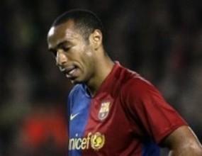 Анри е под въпрос и за финала на Шампионската лига