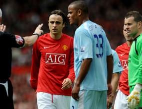 Ман Юнайтед докосва титлата, Бербатов с две асистенции