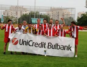 УниКредит Булбанк спечели футболния турнир за Купата на Лидерите 2009