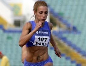 Ивет седма на 200 метра в Лозана след борба с дъжд и силен насрещен вятър