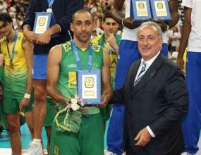 Либерото на Бразилия MVP на финалите на Световната лига