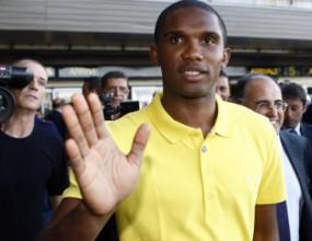 Ето`о пристигна в Милано: Идвам, за да спечеля отново Шампионската лига