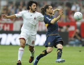 Бока излъга Милан с дузпи в мач на титаните