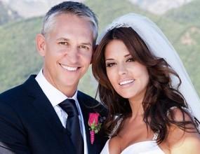 Линекер пръсна 250 000 паунда, за да отпразнува сватбата си, както подобава