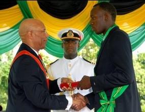 Юсейн Болт бе удостоен с ордена на Ямайка