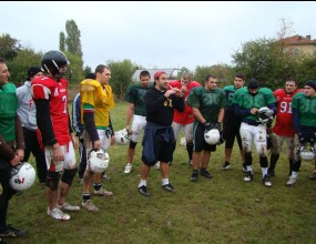 Първият лагер по американски футбол в България приключи успешно