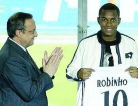Флорентино се плаши Робиньо да не стане Ето'о II