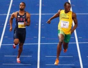 Три сблъсъка Болт-Гей на 100 метра в Диамантената лига
