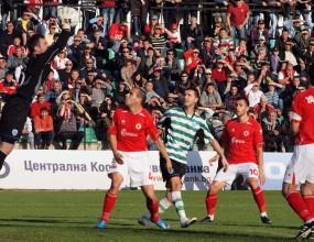 ЦСКА и Черно море спукаха топката в  селски мач във Варна