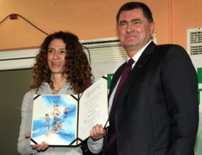 Лили Видева с признание от Европа