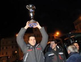 БГ Тренто отпразнува първата си Купа на Италия с много фенове и песни