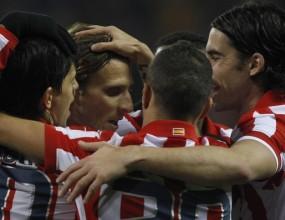 Атлетико (М) на крачка от финал за Купата след разгром над Сантандер
