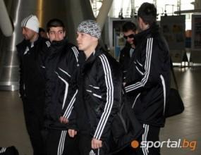 Руски защитник тренира със Славия