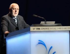 Вицепрезидент на ФИФА замени шефът на кандидатурата на Англия