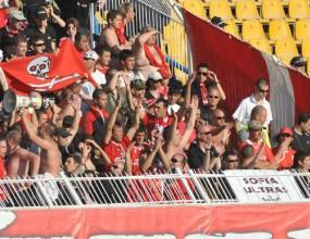 Феновете на ЦСКА правят хардкор концерт в помощ на съмишленик