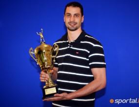Sportal.bg короняса Матей Казийски за Волейболист №1 на България