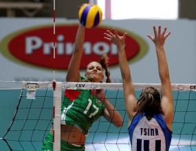 Волейболистките отнесоха Гърция с 3:1 в квалификациите за Евро'2011