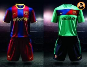 Барселона представи екипите за сезон 2010/2011.