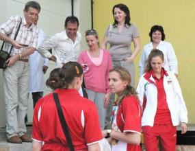 Волейнационалките пристигнаха в Констанца