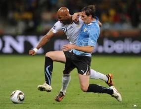 Франция и Уругвай стартираха скучно (видео)
