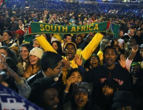 8,5 млн. тв зрители в Южна Африка са наблюдавали концерта преди откриването на Мондиал 2010