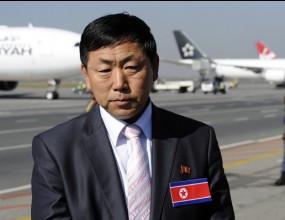 Треньорът на КНДР се изнерви по време на на пресконференция
