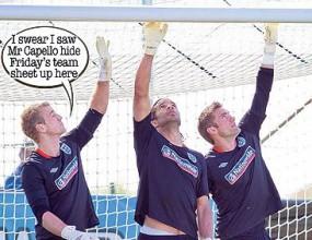 Англия с трима вратари срещу Алжир